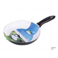 Koekenpan Ceramic Basic wit 20 cm