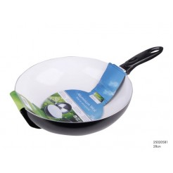 Wokpan Ceramic Basic wit 28 cm