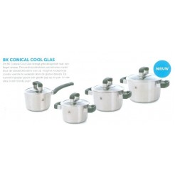 BK Conical cool glas set 4 dlg